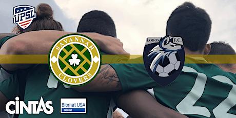 UPSL Soccer: Savannah Clovers v Lobos FC tickets