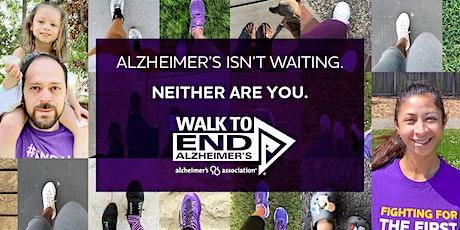 Alzheimer's Associations Walk to End Alzheimer's tickets