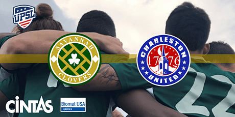 UPSL Soccer: Savannah Clovers v Charleston United tickets