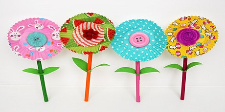 Cupcake flowers (Kandos Library, ages 3-5) tickets