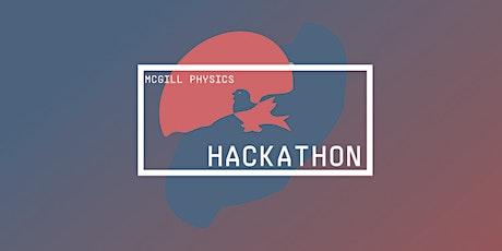 McGill Physics Hackathon 2020 tickets