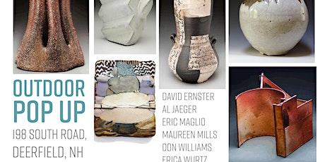 Pop Up Outdoor Ceramics Show - Hayfield, Deerfield tickets