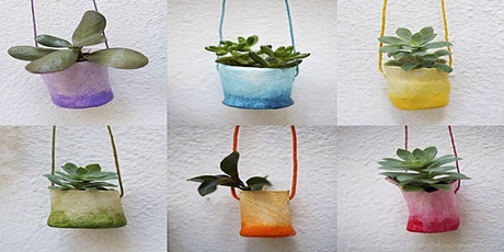 Air dry clay planters (Mudgee Library, ages 9-12) tickets