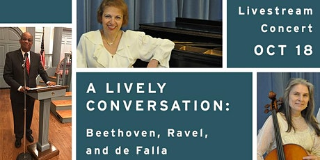 A Lively Conversation: Beethoven, Ravel, and de Falla tickets