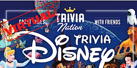 Disney Movies Virtual Trivia - Gift Cards and Raffle Prizes! tickets