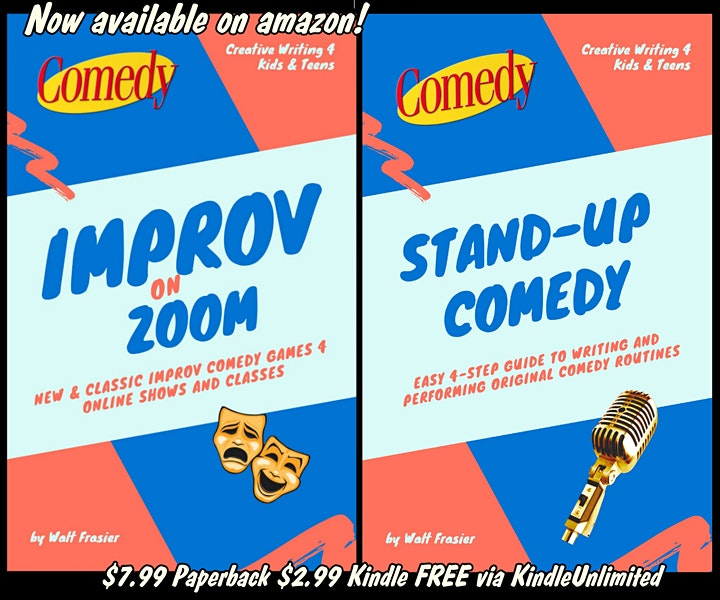 ONLINE Comedy 4 Teens Classes - Improv, Stand-Up, Sketch image