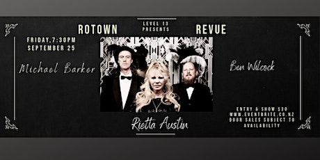 Rotown Revue with Rietta Austin, Michael Barker and Ben Wilcock tickets