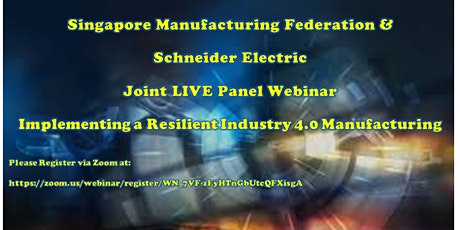 SMF &  Schneider Electric  Joint LIVE Panel Webinar tickets