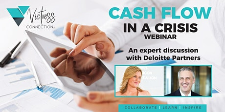 Victress Connection  Cash Flow in a Crisis - Webinar tickets