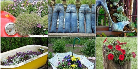 Online Workshop - Recycled Kitchen Garden tickets