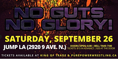 PPW No Guts, No Glory! tickets