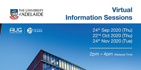 University of Adelaide Virtual Info Session tickets