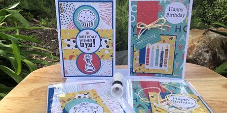Make Your Own Birthday Cards Kit tickets