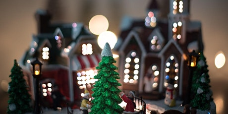 All-Ages Build Your Own Miniature Christmas Wonderland! Live streaming tickets
