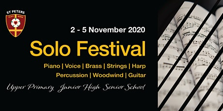 St Peters Music Solo Festival 2020 tickets