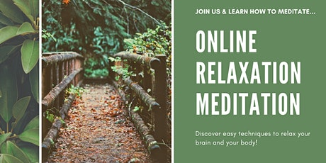 Online Relaxation Meditation-Learn How to Meditate! tickets