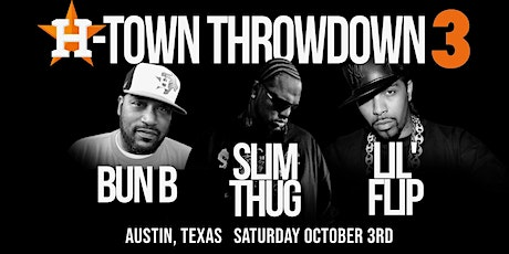 H-Town Throwdown 3 tickets