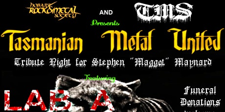Tasmanian Metal United tickets