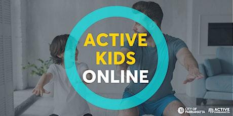 Active Kids Online tickets