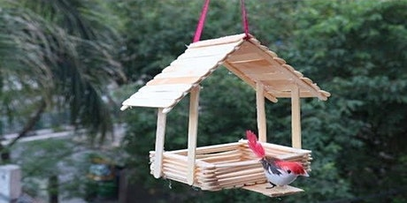 Bird feeders with air dry clay birds (Mudgee Library, ages 9-12) tickets