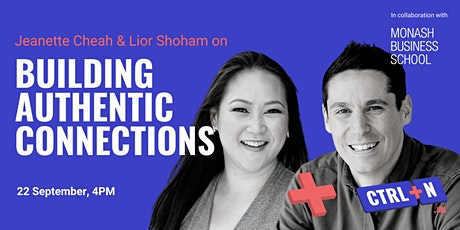 Monash x CTRL+N: Building Authentic Connections tickets
