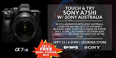 Sony A7SIII | Experience & Learn w/ Sony Australia (1) tickets