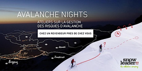 ORTOVOX AVALANCHE NIGHTS | Snowleader billets