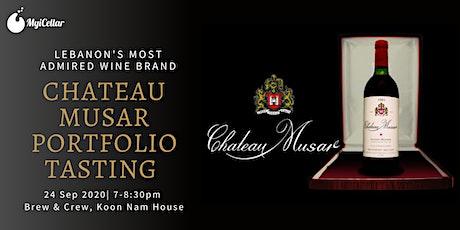 Chateau Musar Portfolio Tasting @ Brew & Crew tickets