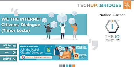 Global Citizens' Dialogue on Internet Governance [Timor Leste] biglietti