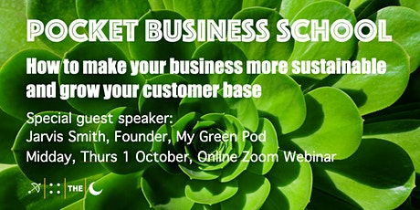 How to make your business more sustainable and grow your customer base tickets