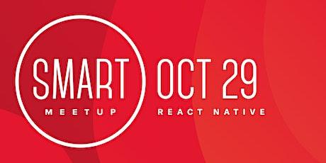 React Native Smart Meetup 2020 tickets
