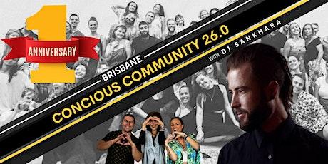 Conscious Community  Brisbane 26.0 tickets