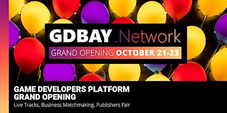 Game Developers Platform Grand Opening — GDBAY.Network tickets