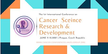 International Conference on Cancer Science: Research & Development (ICSR 20 biglietti