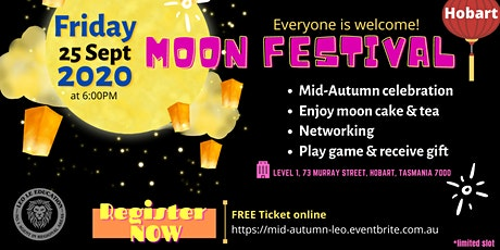 MOON FESTIVAL - Hobart tickets