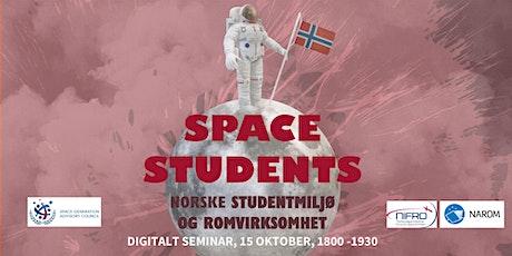 Space Students: Norsk studentmiljø og romvirksomhet tickets