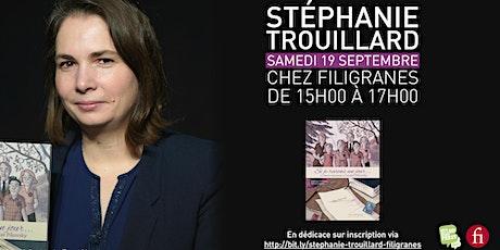 Stéphanie Trouillard en dédicace ! billets
