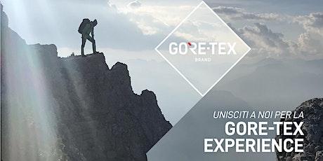 MAXI SPORT   GORE-TEX EXPERIENCE biglietti