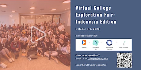 Indonesia Virtual College Fair tickets