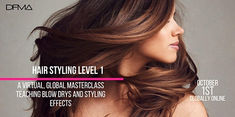 Hairstyling workshop Level 1 tickets