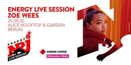 ENERGY LIVE SESSION | ZOE WEES Tickets