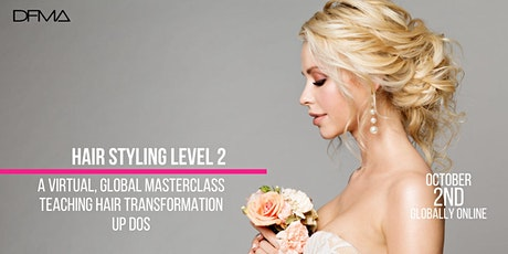 Hairstyling workshop Level 2 tickets