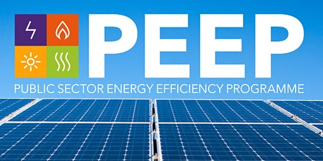 Public-Sector Energy Efficiency Programme (PEEP) Official Launch Event tickets