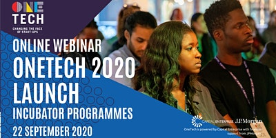 OneTech 2020 Launch – Our New Incubator Programmes for Diverse Founders