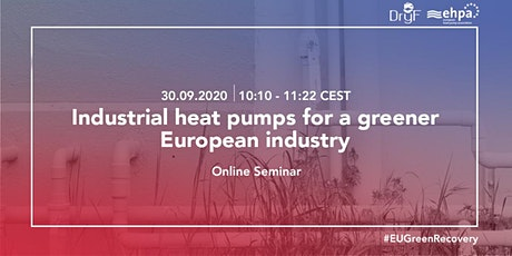 Industrial heat pumps for a greener European industry tickets