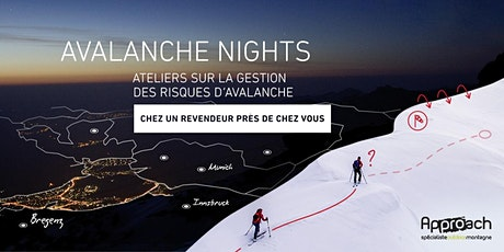 ORTOVOX AVALANCHE NIGHTS | Approach Briancon tickets