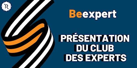 Réunion d'informations Club des Experts tickets