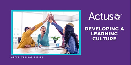 Webinar: Developing a Learning Culture tickets
