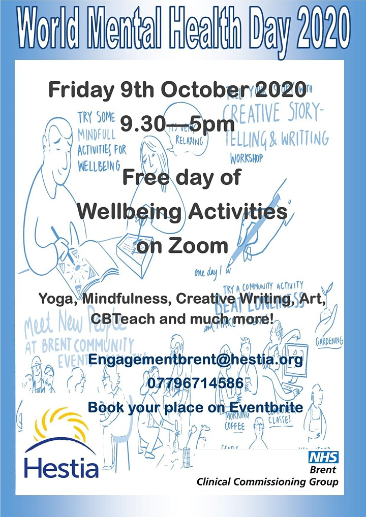 World Mental Health Day 2020 Tickets Fri 9 Oct 2020 At 09 30 Eventbrite