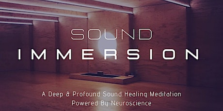 Immersive Sound Healing Meditation tickets